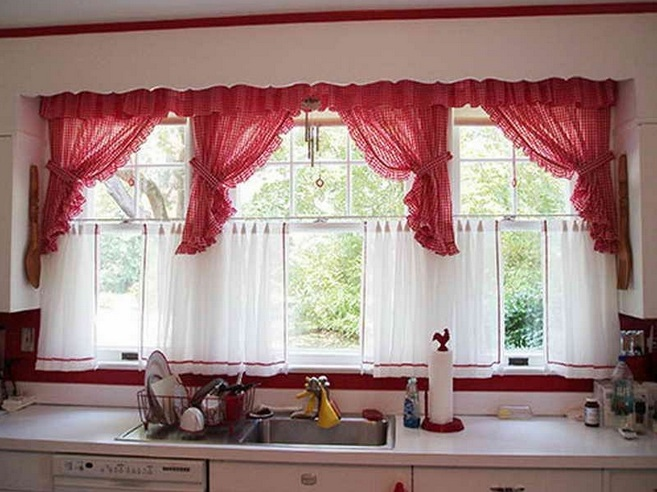 Wine Themed Kitchen Curtains Design And Ideas Decolover Net