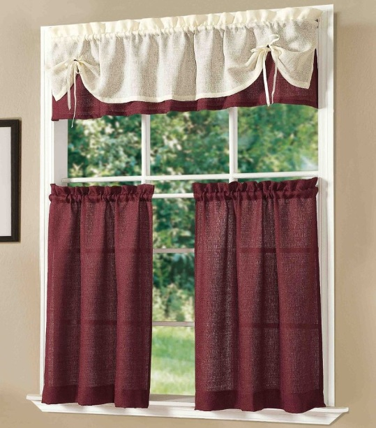 Wine Themed Kitchen Curtains With Wine Bottle Prints Decolover Net