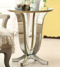 Glass side tables for living room with cube designs ...