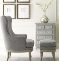 Contemporary design chairs with ottomans for living room ...