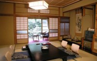 Japanese Inspired Living Room