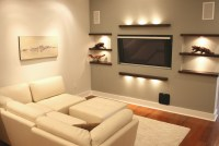 Small tv room ideas with good lighting design | Decolover.net