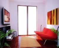 Small tv room ideas with light color schemes | Decolover.net