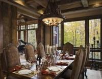 Vintage dining room lighting ideas wih vintage metal lamp ...