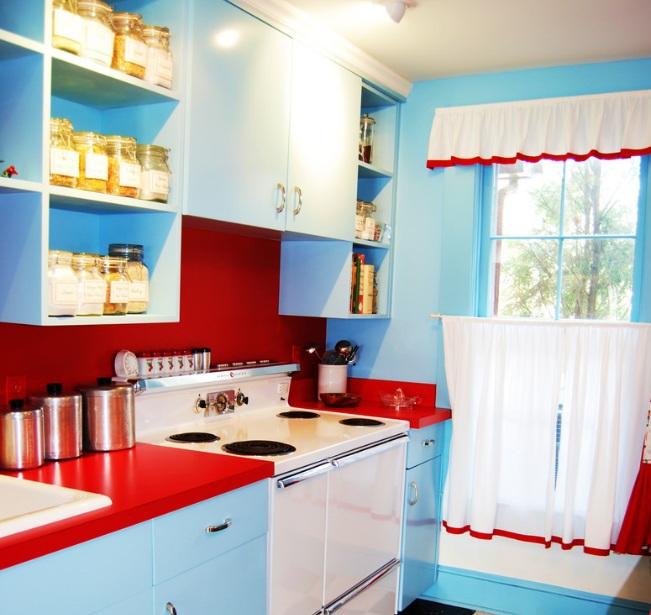 Red Kitchen Decor Design Ideas