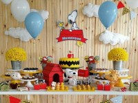 Snoopy baby shower decorations ideas | Decolover.net