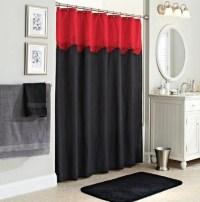 Black bathroom rugs and towels for black bathroom decor ...