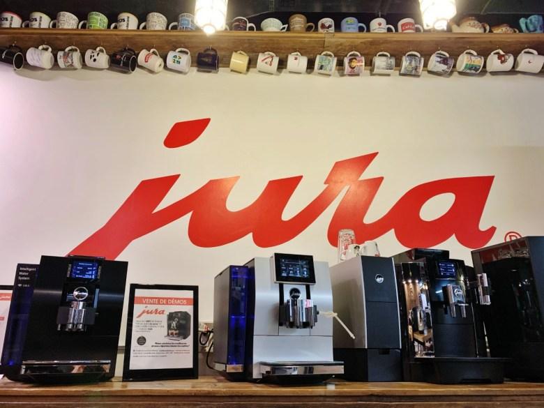 Machine pro à café Jura