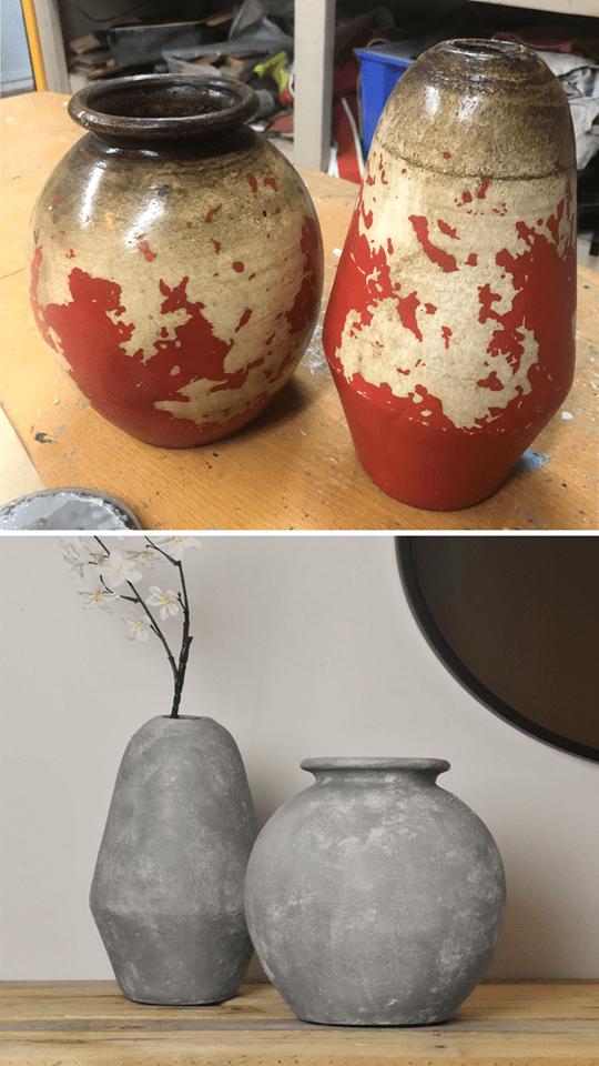 vase revalorisée écoresponsable