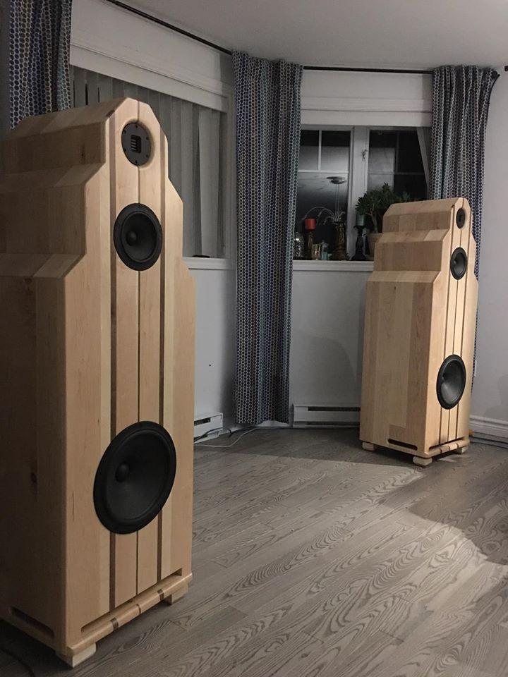 Speaker en bois Donlebois