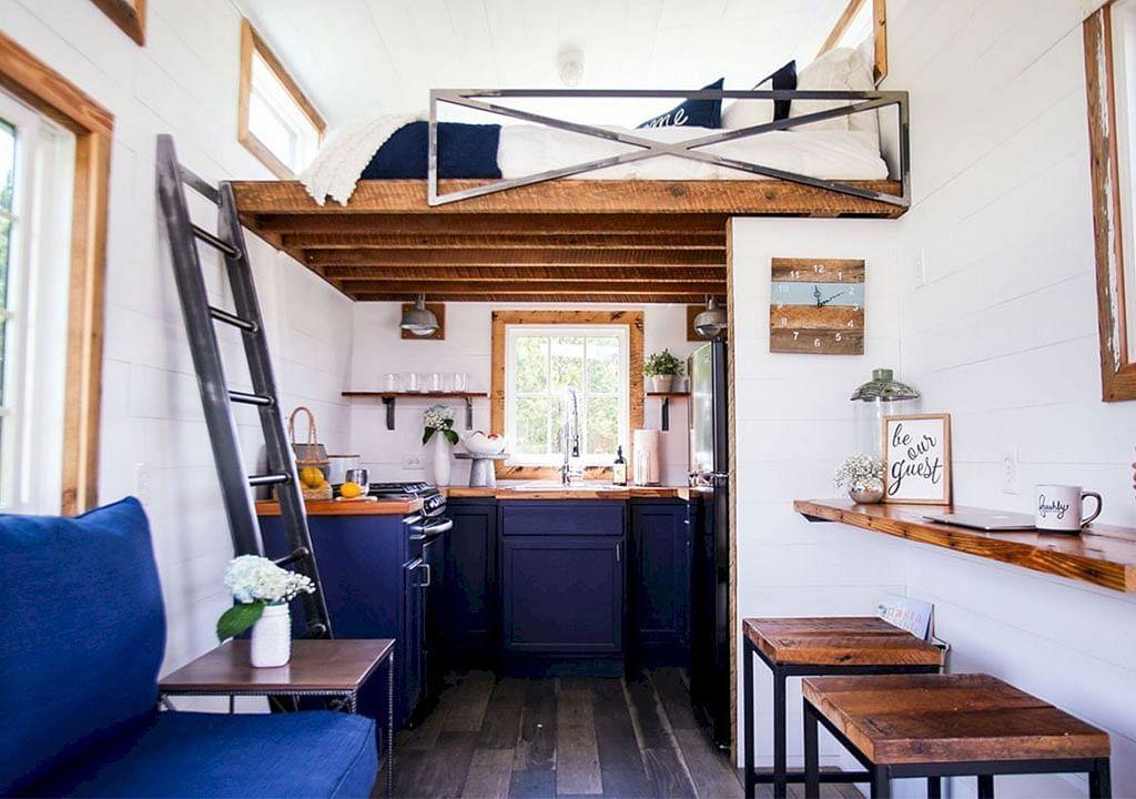 Rentabiliser l'espace de la mini-maison
