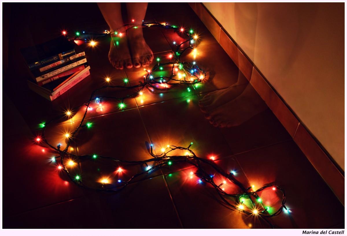 Lumières DEL de Noël