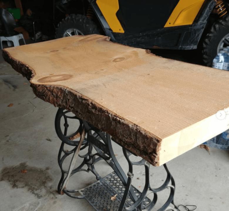 Slab de bois