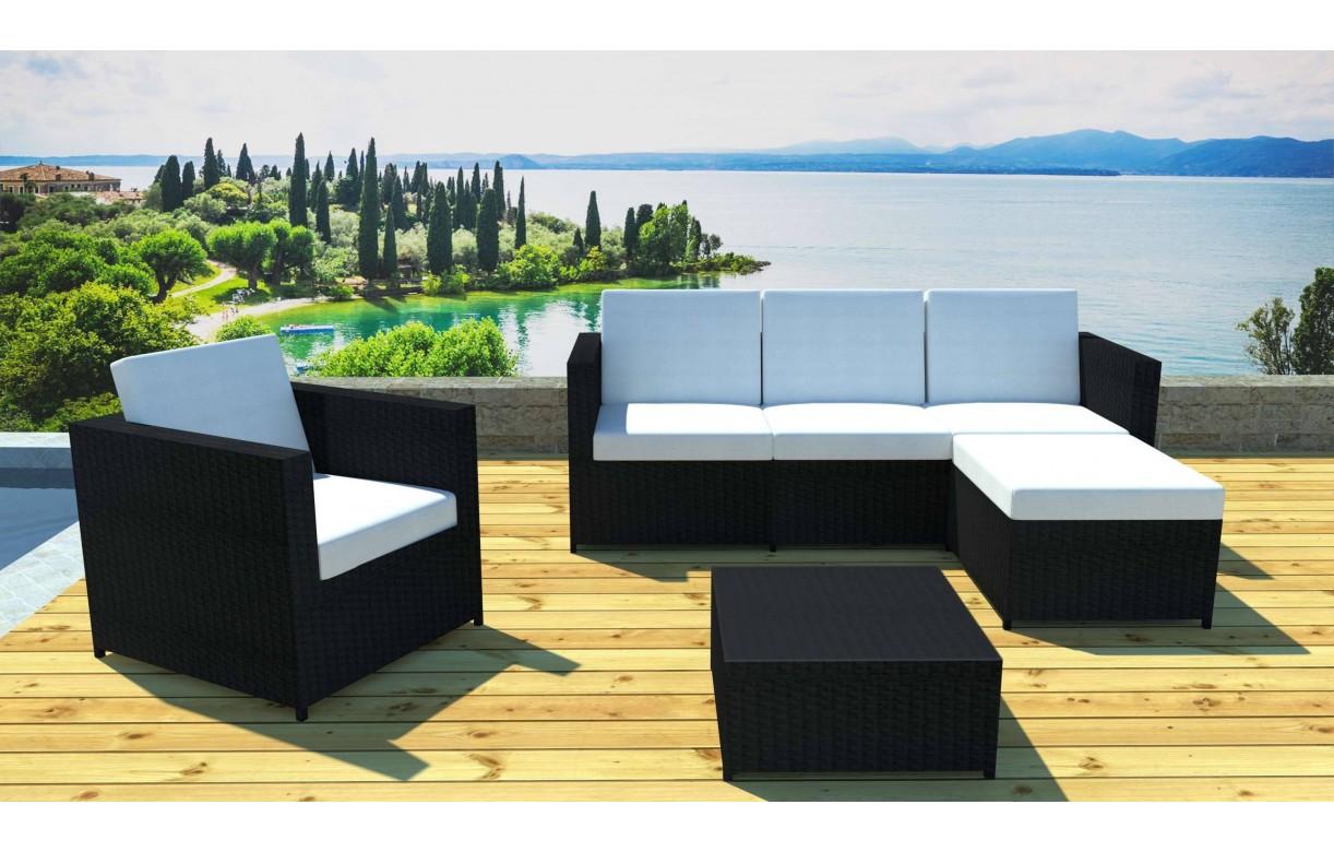 Table De Salon De Jardin Modulable | Finlandek Table 4 Places ...