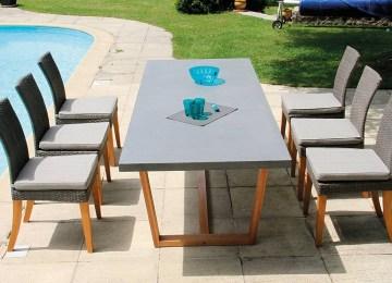 Table De Jardin Imitation Resine | Table Jardin Résine Tressée