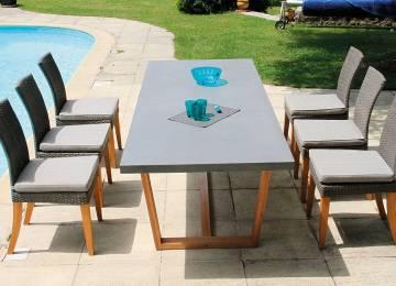 Table De Jardin Bois Octogonale | Table Basse De Jardin Alu Ezooq