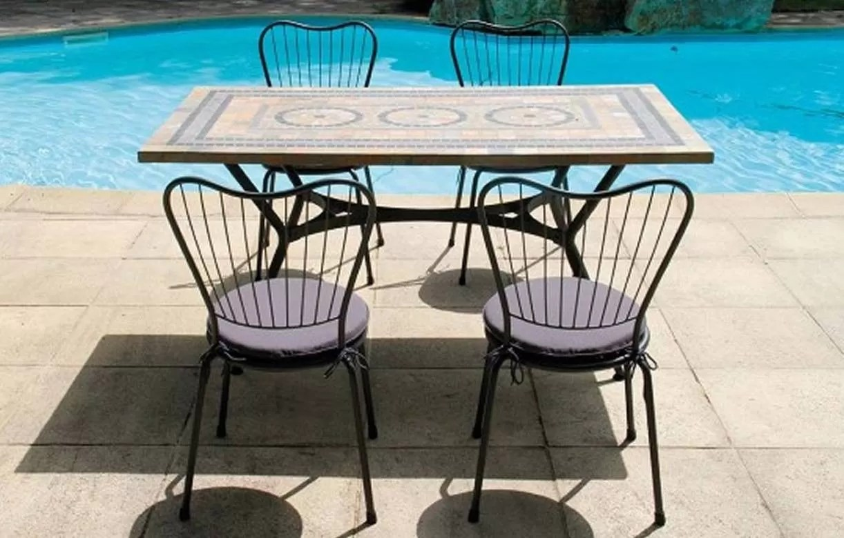 Grande Table De Jardin Rectangulaire   Comparatif Tables De Jardin à ...