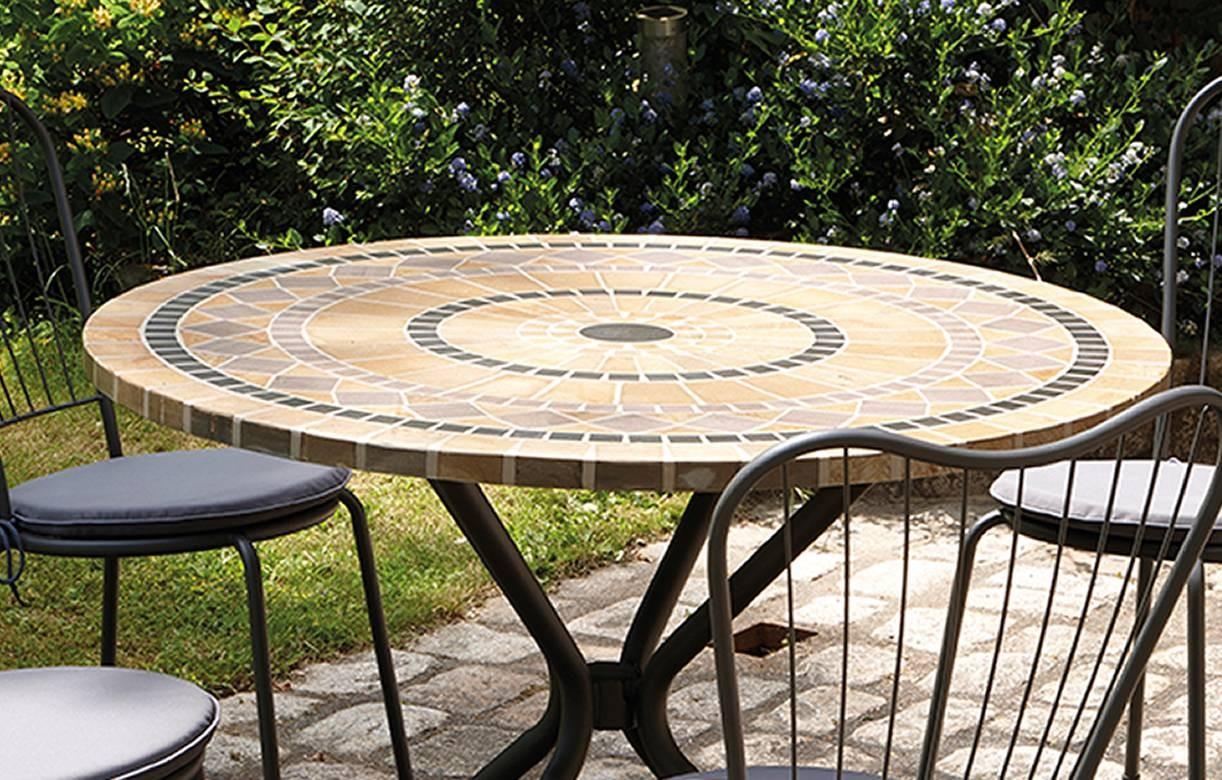Table Mosaique Jardin | wohnzimmer grundriss ideen
