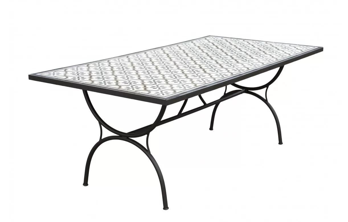 Table Exterieur Mosaique