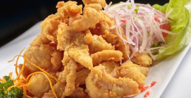 receta de chicharrón de pescado