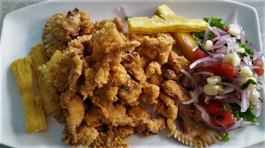 receta de chicharrón de pescado fácil