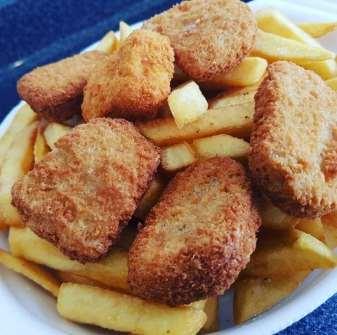 nuggets caseros de pollo