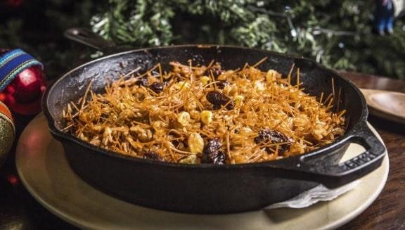 arroz arabe navideño