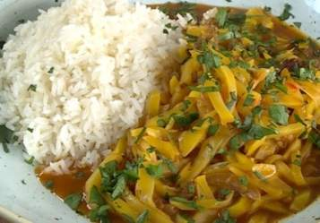 ingredientes para el olluquito