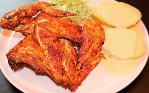 receta de pollada frita