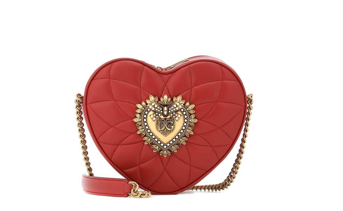 Sac à bandoulière Devotion en cuir matelassé de Dolce & Gabbana