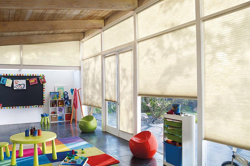 窗簾種類推薦 Hunter Douglas 風琴簾 - 兼顧居家健康與兒童安全 - DECOmyplace 室內設計裝潢與居家佈置社群