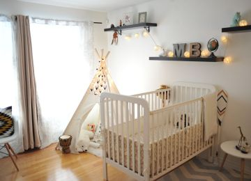 Vintage Chambre Bebe | Stunning Idee Deco Chambre Bebe Fille Gris Et ...