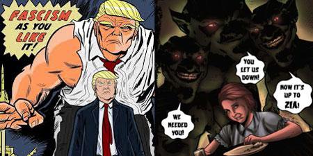 Trump and Empress