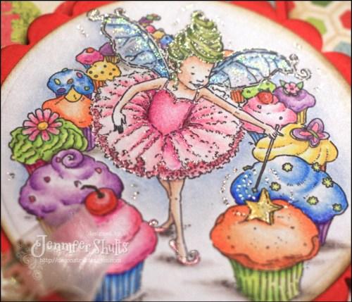 Their Plum Danced Sugar Fairies Heads
