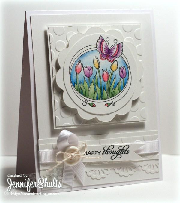 flutterby card Jen