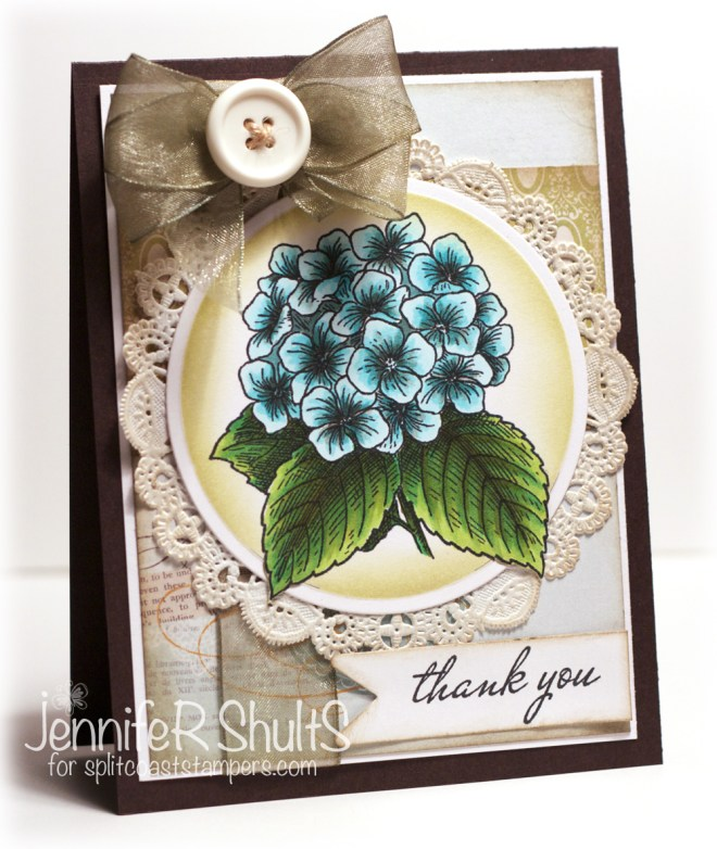Thank You, a handmade card by Jen Shults