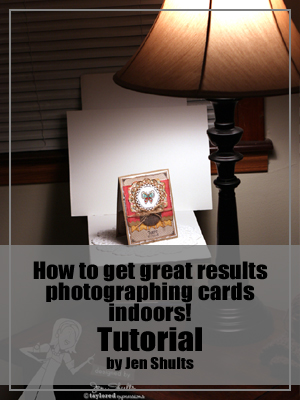 How to successfully photograph cards indoors