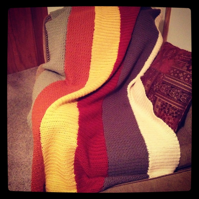 long throw blanket