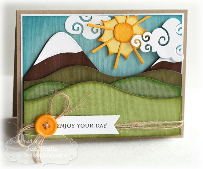Enjoy Your Day by Jen Shults