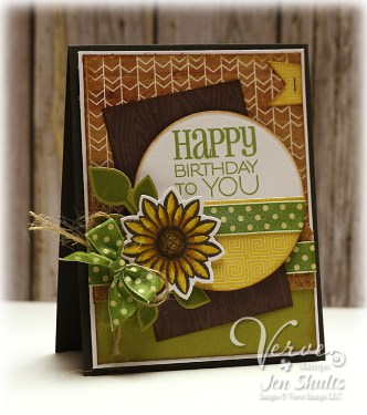 Happy Birthday To You, #Verve #handmade #card