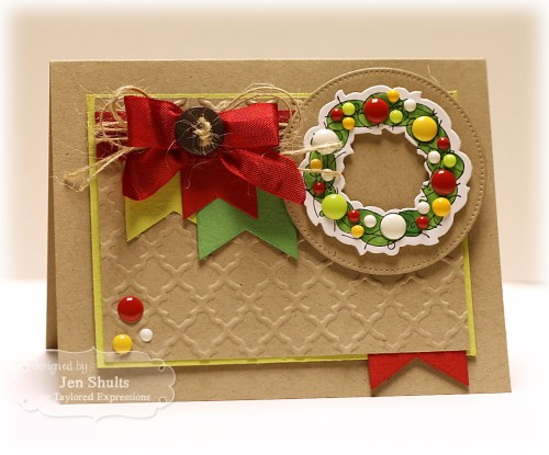 Christmas Wreath by Jen Shults