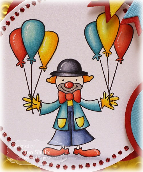 Happy Birthday Circus by Jen Shults