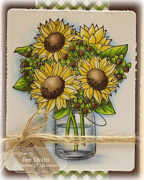 Sending Smiles, Sunflower Bouquet (Taylored Expressions)