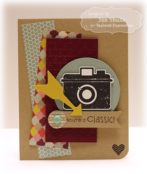 You're a Classic by Jen Shults, Taylored Expressions Stamps and Dies
