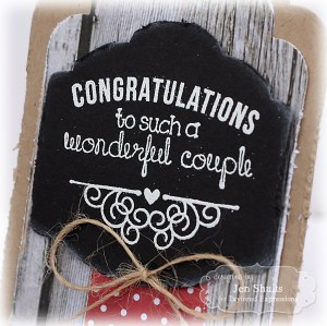 Congratulations by Jen Shults, Stamps by Taylored Expressions