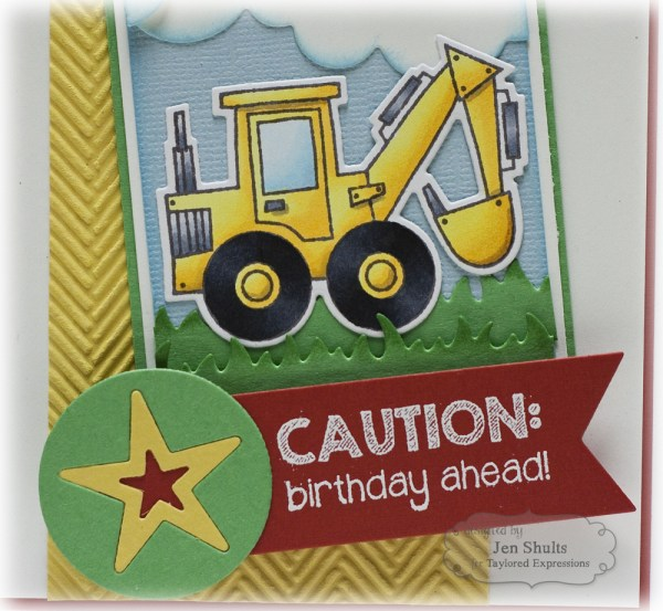 Caution: Birthday Ahead by Jen Shults