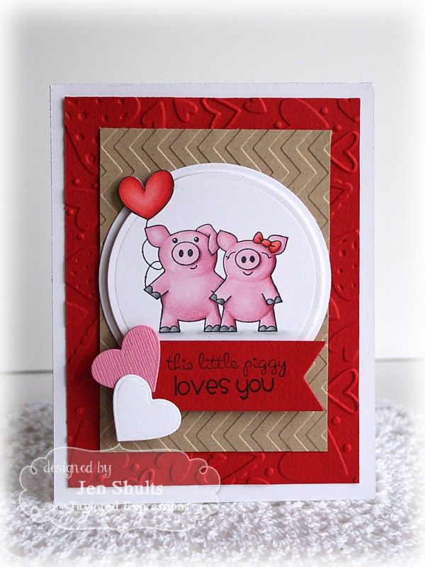 This Little Piggy Loves You by Jen Shults