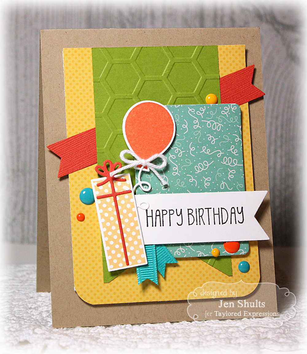Taylored Expressions Stamp of the Month Blog Hop!