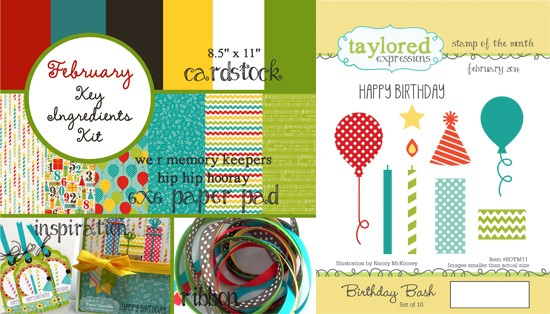 February Delux Kit by Taylored Expressions