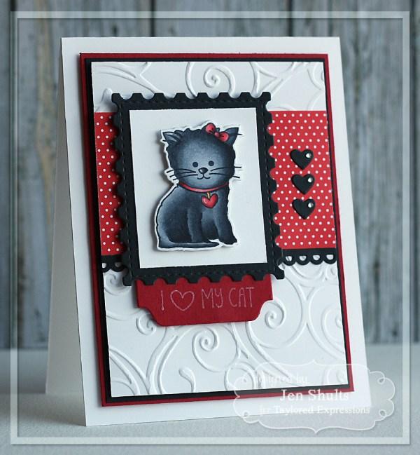 I <3 Cat by Jen Shults